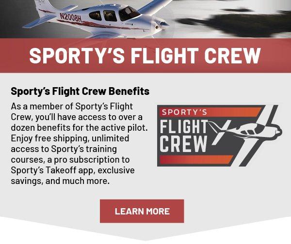 Sporty's Flight Crew Membership