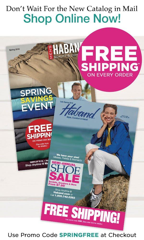 Men's & Women's Deals at Haband.com