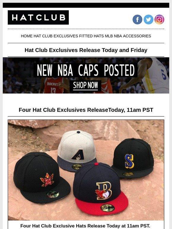 d413377c Hat Club: 📢 REMINDER: 30 minutes until Hat Club Exclusives release ...