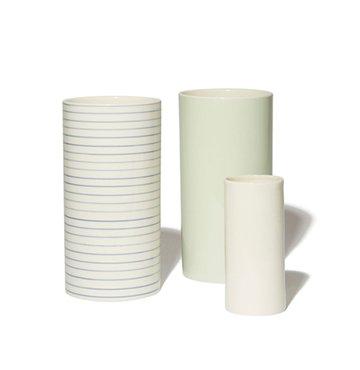 Stripes Vase Narrow, Extra Large, Anne Black, $88