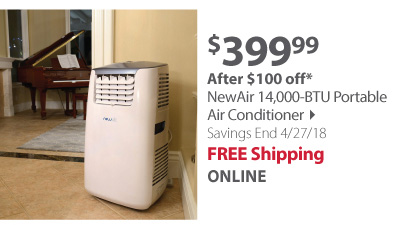 new air 14,000 btu portable ac