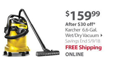 karcher wet dry vacuum