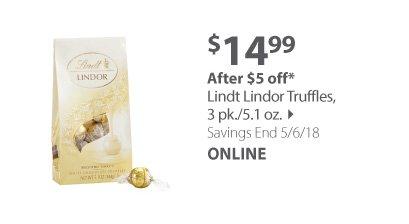 lindt truffles
