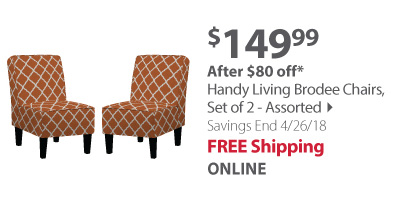 handy living brodee chair