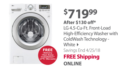 lg front loader washer