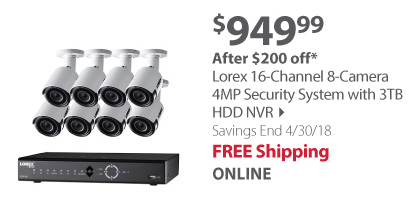 lorex 16 channel security