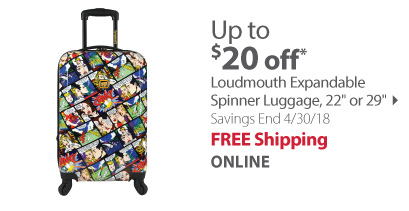 loudmouth luggage