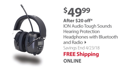 ion audio headphones