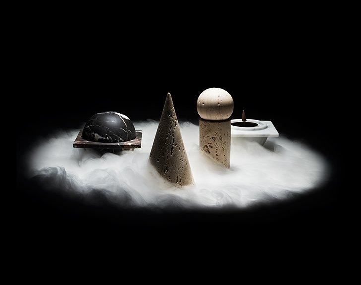 Incense burners by Bloc Studios