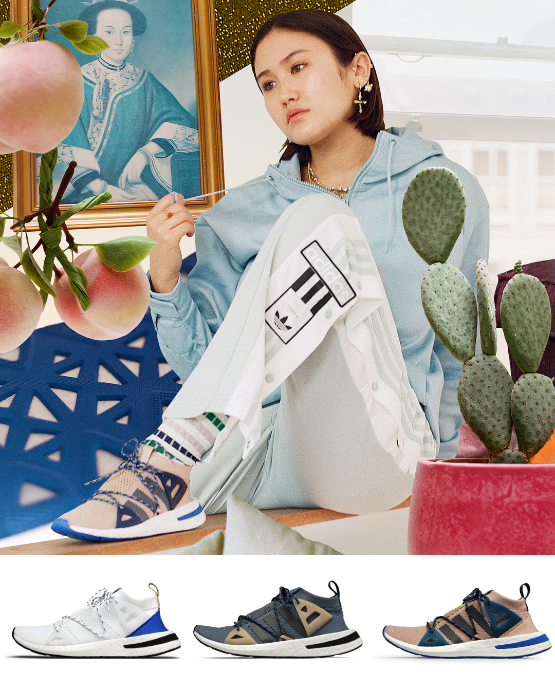 adidas arkyn outfit