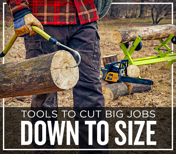 Tools To Cut Big Jobs Down To Size