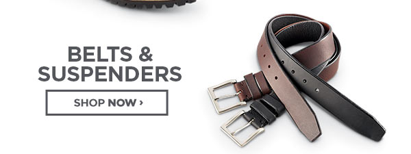Shop Belts and Suspenders
