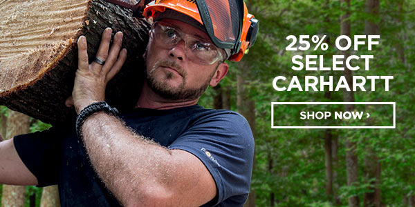 Shop Select Carhartt 25% off