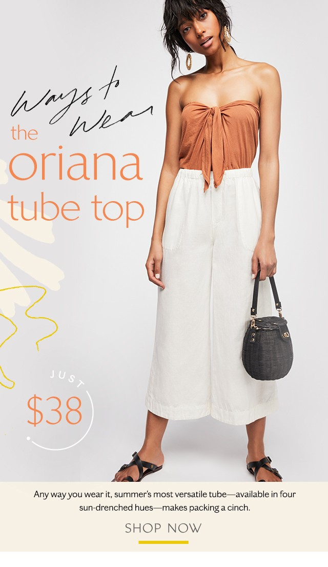 The Oriana Tube Top