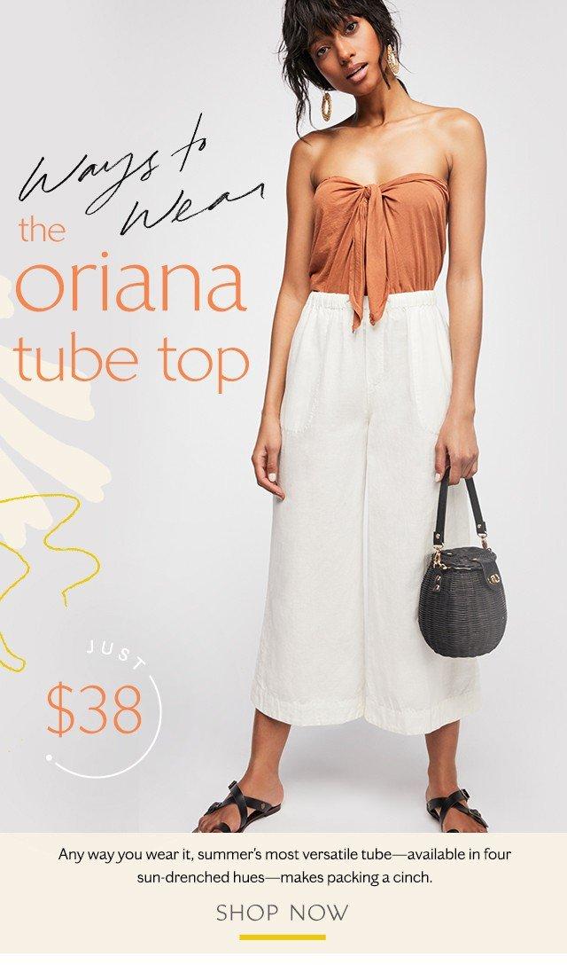 The Oriana Tube Top