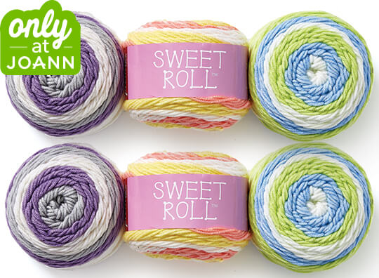 Premier Sweet Roll Yarn.