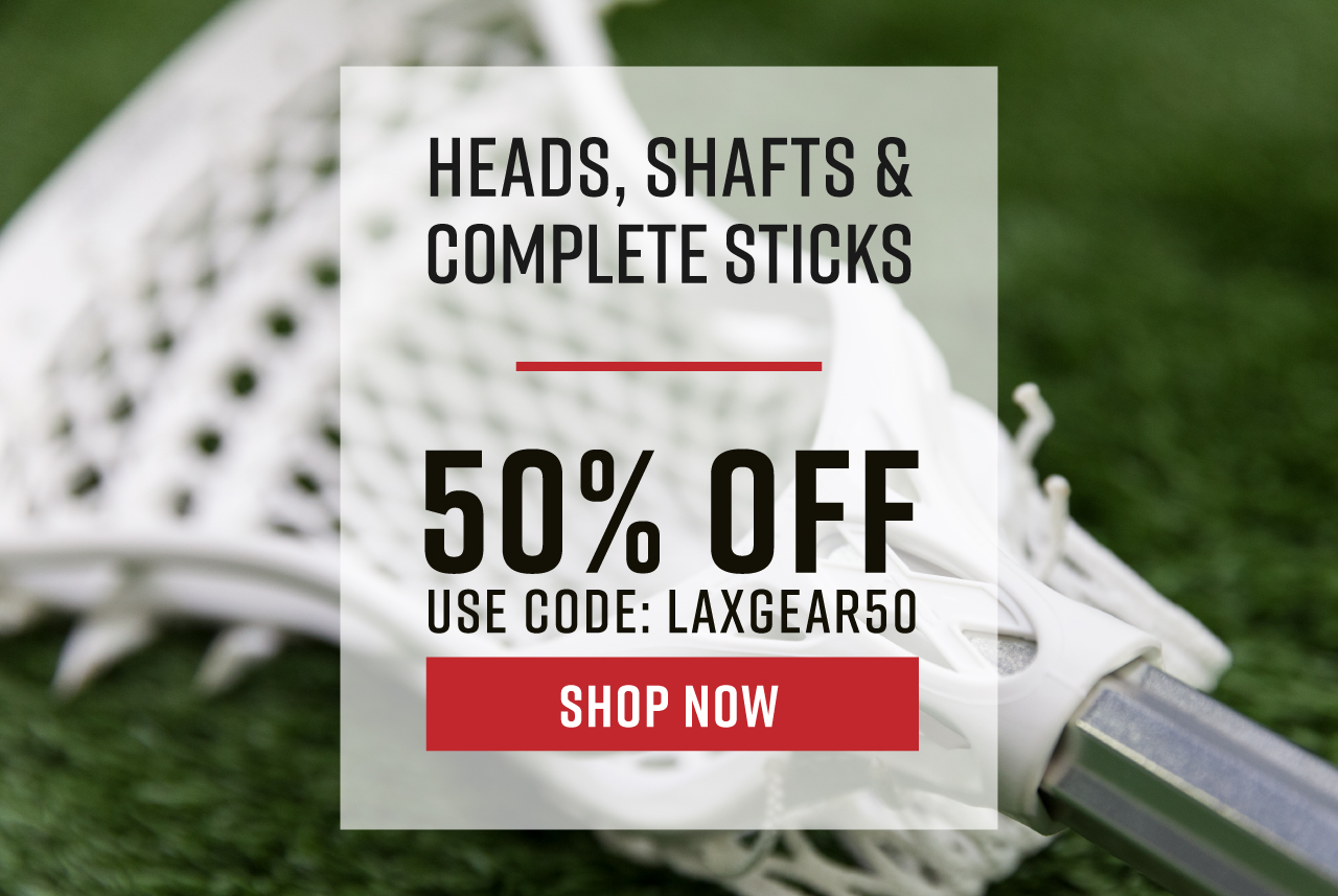 50% Off Heads, Shafts, Complete Sticks