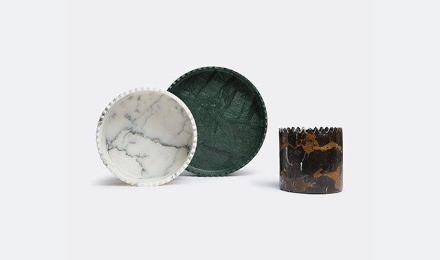 'Triangoli' vases by david/nicolas for Editions