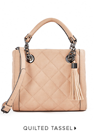 QUILTED TASSEL