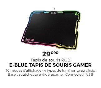 Tapis de souris E-Blue gamer - 29,90