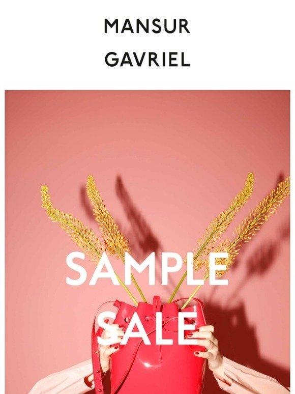 Mansur Gavriel Mansur Gavriel Sample Sale Starts Today Milled
