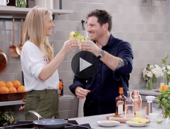 Real Men Eat goop: The Margarita