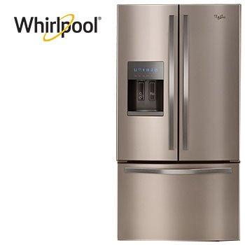Whirlpool 25 Cu Ft French Door Refrigerator Costco French Door