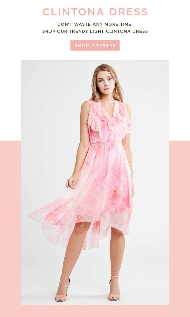 69b3072b7995 Clintona Dress - Dont Waste Any More Time, Shop Our Trendy Light Clintona  Dress · Visit Elie Tahari
