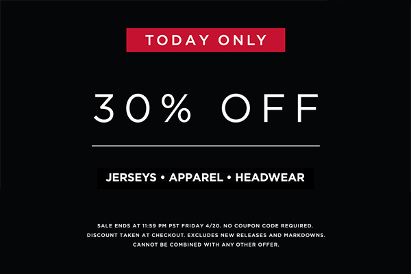 Today only 30% off