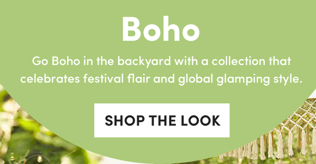 Boho - Shop The Look