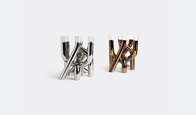 'Mistic' vases by Arik Levy for Gaia & Gino