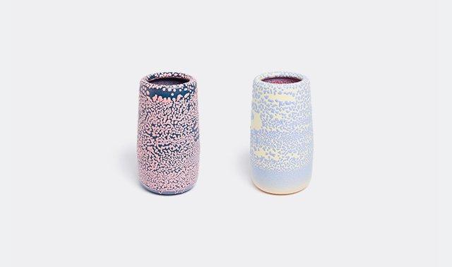 'Spot' vases by Dimitri Bhler