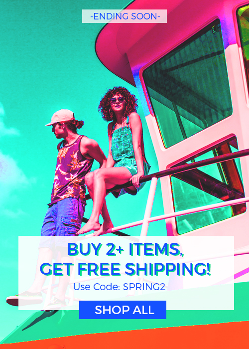 Buy 2+ Items, Get Free Standard Shipping! Use Code: SPRING2 Ends Tonight,  4/22