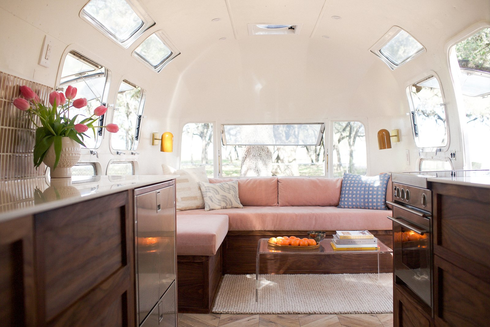 Dwell: A Chic Airstream Renovation   6 Marble Alternatives For Your ...