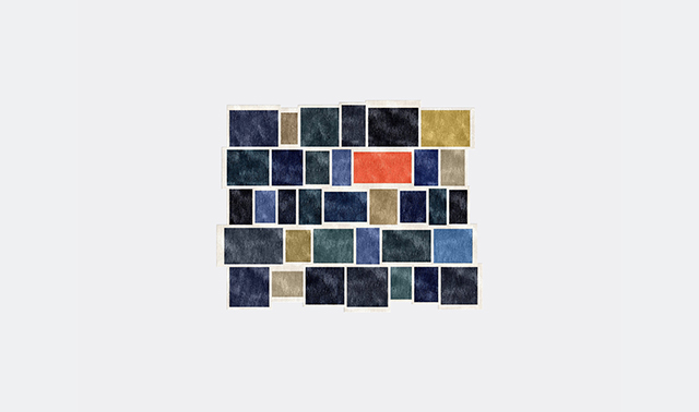 'Please Wait' rug by Luca Nichetto for Illulian