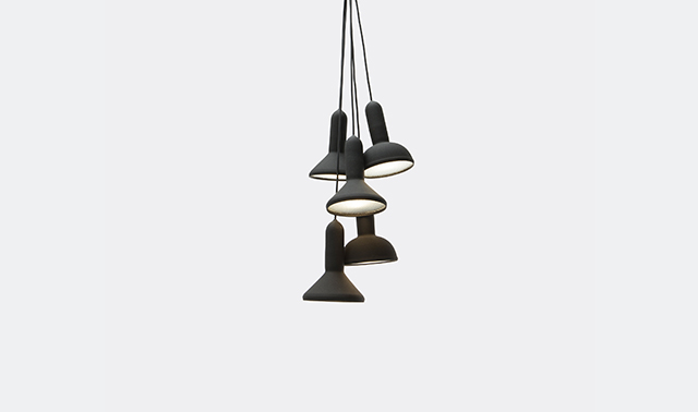 'S5 Torch' lighting bunch by Sylvain Willenz for Established & Sons