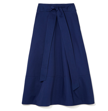 LILY BELTED FLARE SKIRT  G. Label  $450