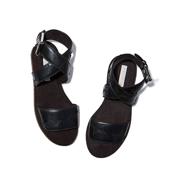 FLAT STAR SANDALS  Stella McCartney  $495