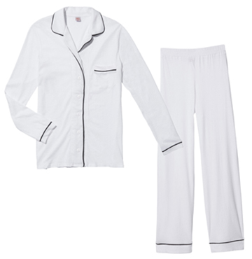 PIPED PAJAMAS  Only Hearts  $147