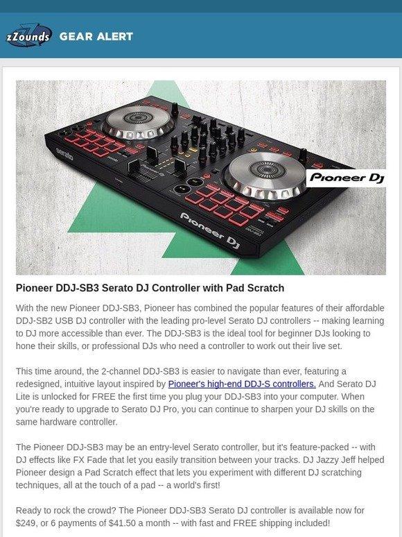 zZounds: Pioneer x DJ Jazzy Jeff: DDJ-SB3 | Milled