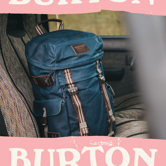 The House Burton Bags Are Built To Last All Backed By A