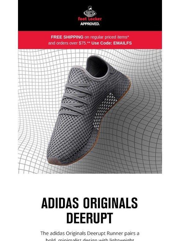 Foot Locker: adidas Originals Deerupt Runner – launching