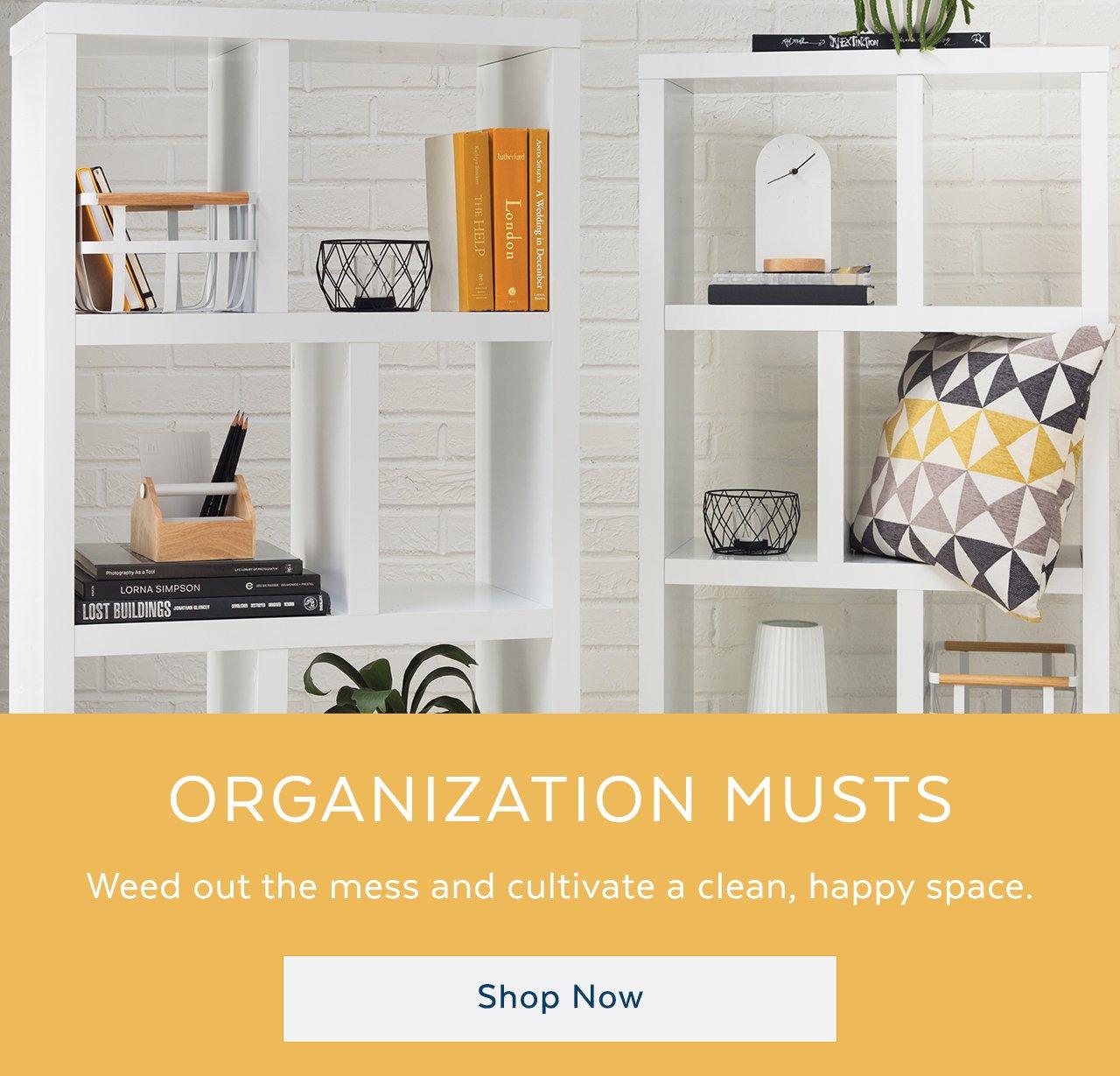 Beau Organization Musts