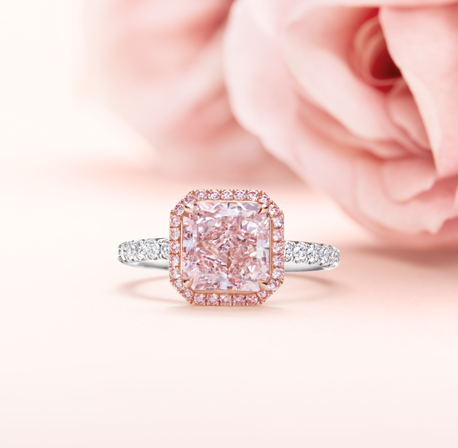 Harry Winston: Celebrate Spring with Fancy Pink Perfection | Milled