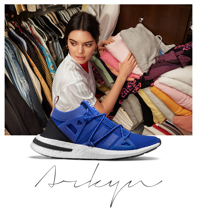 Adidas  Just Arrived  adidas exclusive Arkyn featuring Kendall ... 0d284d8f62c
