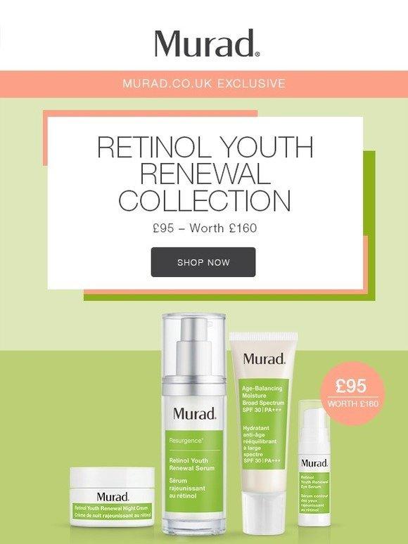 Murad UK: Exclusive Retinol Youth Renewal Collection | Milled