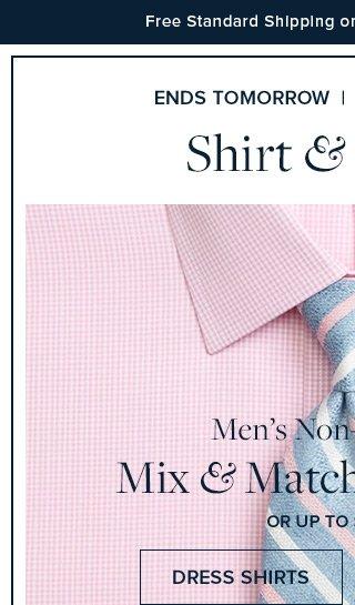 ENDS TOMORROW | DRESS SHIRTS