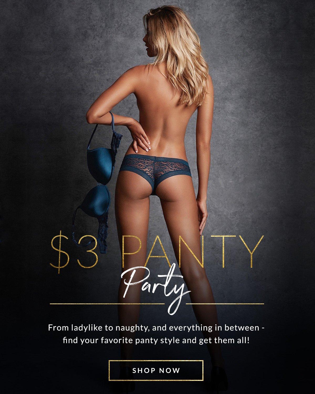 Fredericks: Flash Sale Panties $2.85