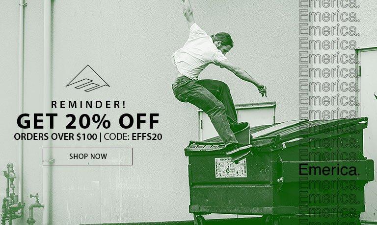 Get 20% Off!
