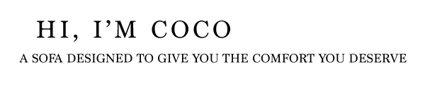 Hi, I'm COCO